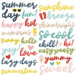 Simple Stories - Summer Farmhouse - Foam Stickers